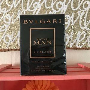 Bvlgari Man in Black Refillable travel Spray